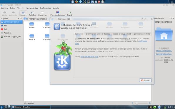 ¡KDE 4.2!