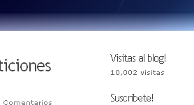 10, 000 visitas!