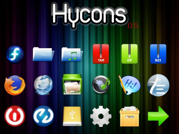 Hycons versión 0.5.