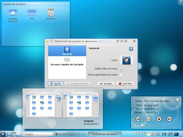 KDE 4.3 | Panel - Plasmoides.