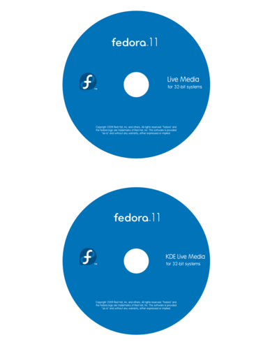 F11 Live Disc Label.