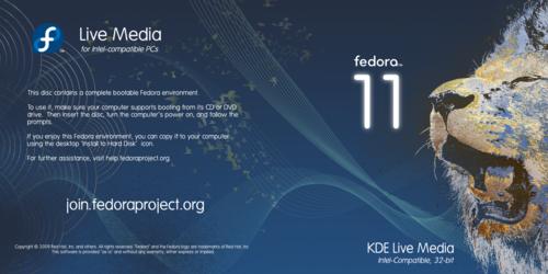 F11 Live Media KDE.