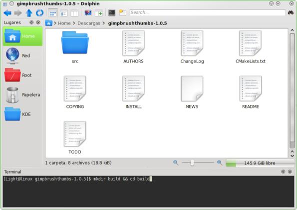 GimpBrushThumbs - Compilando.
