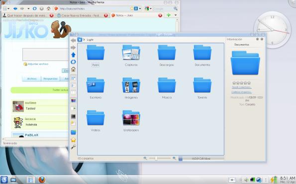 Crystal 2.0.4 - Decorador de ventanas para KDE 4.