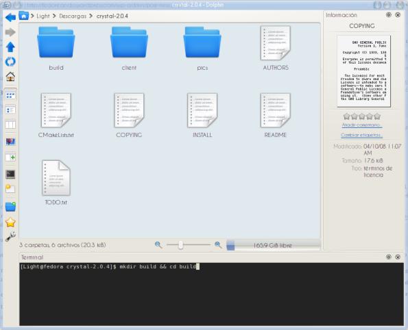 Compilando Crystal 2.0.4.