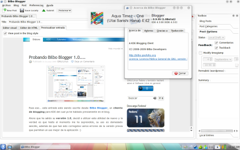 Bilbo Blogger 1.0.
