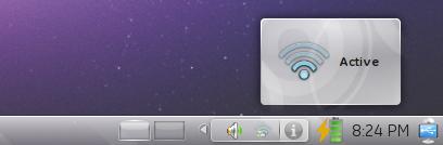 KNetworkManager - Icono cambiado.