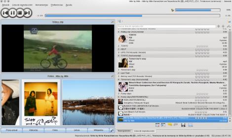 Amarok 2.2 - Widgets.