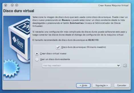 Creando una máquina virtual3